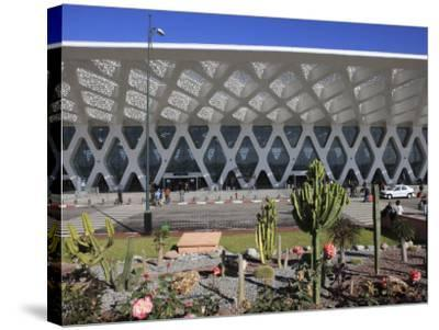 Airport, Marrakech, Morocco, North Africa, Africa-Vincenzo Lombardo-Stretched Canvas Print