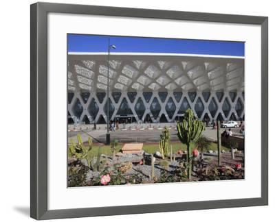 Airport, Marrakech, Morocco, North Africa, Africa-Vincenzo Lombardo-Framed Photographic Print