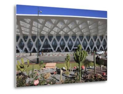 Airport, Marrakech, Morocco, North Africa, Africa-Vincenzo Lombardo-Metal Print