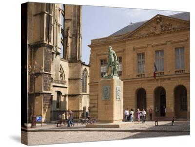 Bronze Statue of Abraham De Fabert D'Esternay-Pearl Bucknall-Stretched Canvas Print