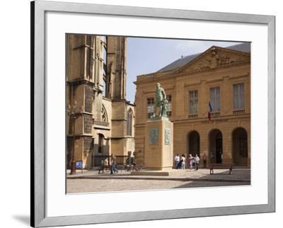 Bronze Statue of Abraham De Fabert D'Esternay-Pearl Bucknall-Framed Photographic Print
