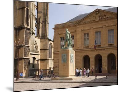 Bronze Statue of Abraham De Fabert D'Esternay-Pearl Bucknall-Mounted Photographic Print