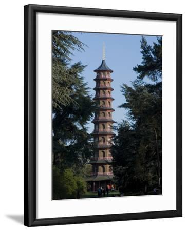 Pagoda, Royal Botanic Gardens, Kew, Surrey-Ethel Davies-Framed Photographic Print