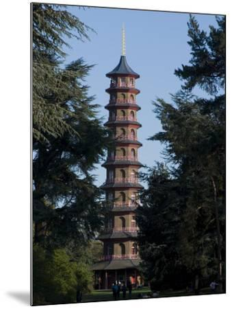 Pagoda, Royal Botanic Gardens, Kew, Surrey-Ethel Davies-Mounted Photographic Print