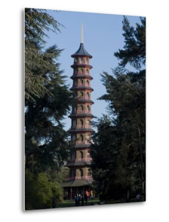 Pagoda, Royal Botanic Gardens, Kew, Surrey-Ethel Davies-Metal Print