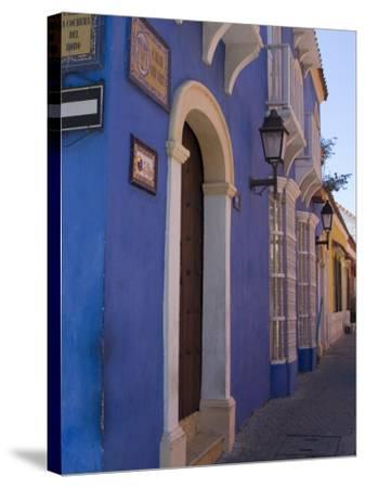 The Walled City, Cartagena, Colombia, South America-Ethel Davies-Stretched Canvas Print