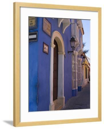 The Walled City, Cartagena, Colombia, South America-Ethel Davies-Framed Photographic Print