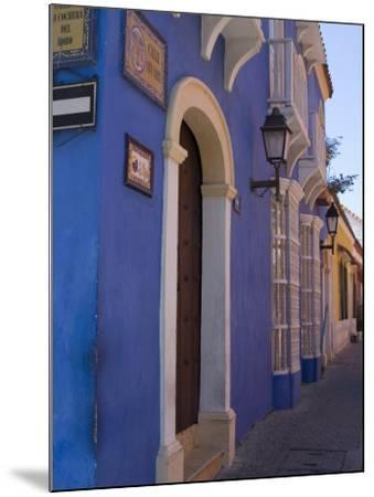 The Walled City, Cartagena, Colombia, South America-Ethel Davies-Mounted Photographic Print