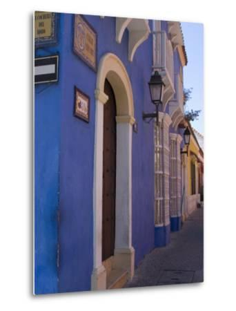 The Walled City, Cartagena, Colombia, South America-Ethel Davies-Metal Print