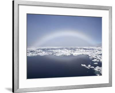 Anthelion, Svalbard Islands, Arctic, Norway, Europe-James Hager-Framed Photographic Print