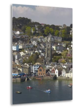 View from Penleath Point, Fowey, Cornwall, England, United Kingdom, Europe-Rob Cousins-Metal Print