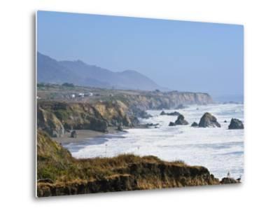 The Northern California Coastline, California, United States of America, North America-Michael DeFreitas-Metal Print