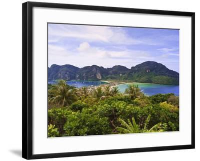 Ko Phi Phi Island, Andaman Sea, Thailand, Southeast Asia, Asia-Nico Tondini-Framed Photographic Print