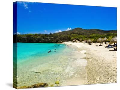 Grote Knip Beach, Curacao, Netherlands Antilles, West Indies, Caribbean, Central America-Michael DeFreitas-Stretched Canvas Print