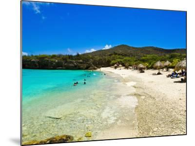 Grote Knip Beach, Curacao, Netherlands Antilles, West Indies, Caribbean, Central America-Michael DeFreitas-Mounted Photographic Print