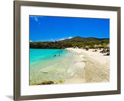 Grote Knip Beach, Curacao, Netherlands Antilles, West Indies, Caribbean, Central America-Michael DeFreitas-Framed Photographic Print