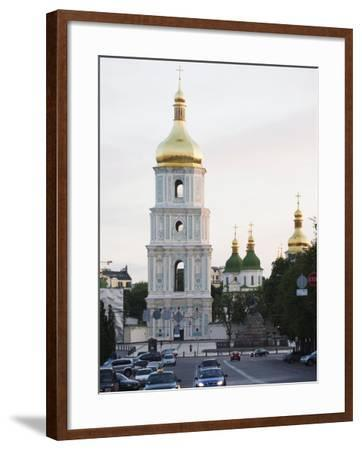 Bell Tower of St. Sophia's Cathedral Built Between 1017 and 1031, Kiev, Ukraine-Christian Kober-Framed Photographic Print