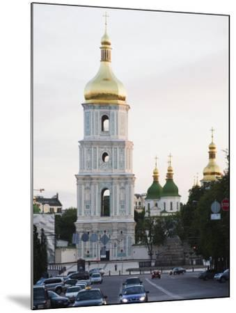 Bell Tower of St. Sophia's Cathedral Built Between 1017 and 1031, Kiev, Ukraine-Christian Kober-Mounted Photographic Print