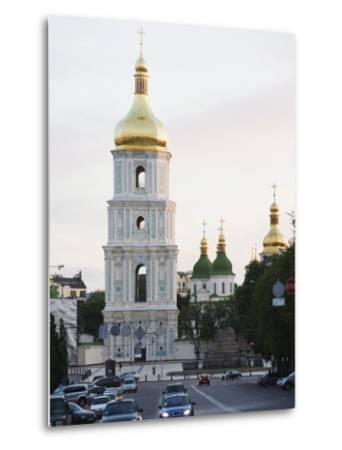 Bell Tower of St. Sophia's Cathedral Built Between 1017 and 1031, Kiev, Ukraine-Christian Kober-Metal Print