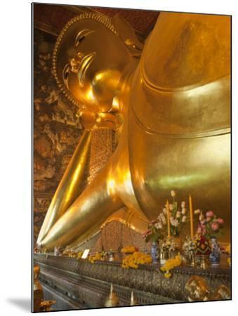 Temple of the Reclining Buddha, Bangkok, Thailand-Nico Tondini-Mounted Photographic Print