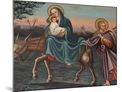 The Flight into Egypt, St. Anthony Coptic Church, Jerusalem, Israel, Middle East-Godong-Mounted Photographic Print