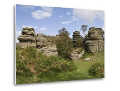 Brimham Rocks, Brimham Moor, Near Ripon, North Yorkshire, England, United Kingdom, Europe-James Emmerson-Metal Print