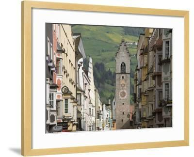 The Old Centre, Vipiteno, on the Brenner Route, Italy, Europe-James Emmerson-Framed Photographic Print