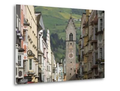 The Old Centre, Vipiteno, on the Brenner Route, Italy, Europe-James Emmerson-Metal Print