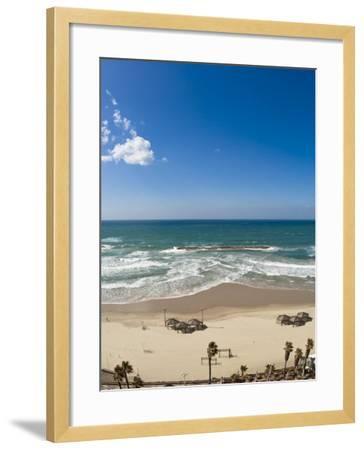 Tel Aviv Beach, Israel, Middle East-Michael DeFreitas-Framed Photographic Print