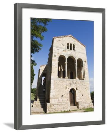 Santa Maria De Naranco, 9th Century Pre-Romanesque Style, Oviedo, Asturias-Christian Kober-Framed Photographic Print