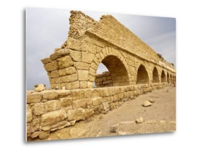 Roman Ruins in Caesarea, Israel, Middle East-Michael DeFreitas-Metal Print