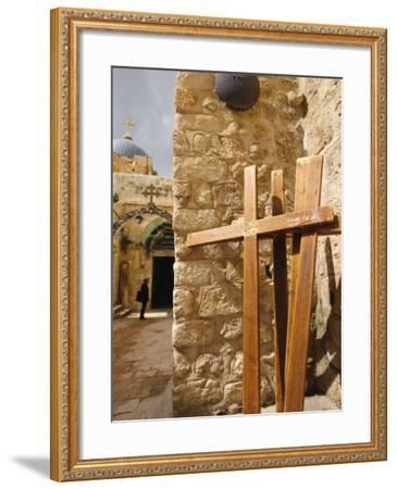 Stations of the Cross on Via Dolorosa, Old City, Jerusalem, Israel, Middle East-Michael DeFreitas-Framed Photographic Print