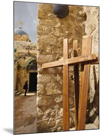 Stations of the Cross on Via Dolorosa, Old City, Jerusalem, Israel, Middle East-Michael DeFreitas-Mounted Photographic Print