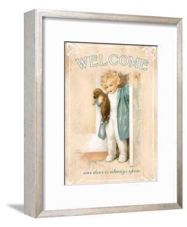 Welcome-Bessie Pease Gutmann-Framed Giclee Print