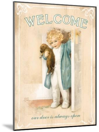 Welcome-Bessie Pease Gutmann-Mounted Giclee Print