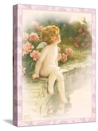 The Butterfly-Bessie Pease Gutmann-Stretched Canvas Print