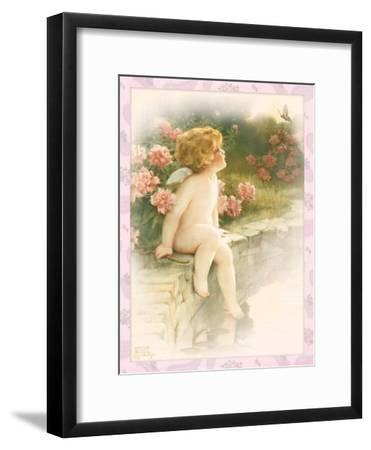 The Butterfly-Bessie Pease Gutmann-Framed Giclee Print