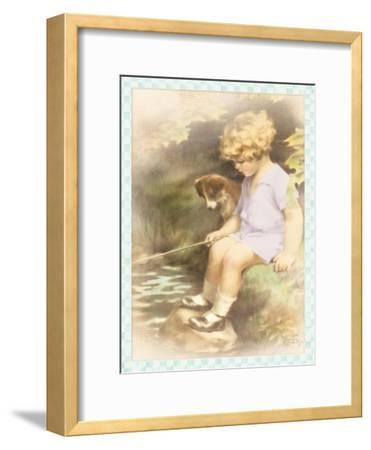 A Chip off the Old Block-Bessie Pease Gutmann-Framed Giclee Print