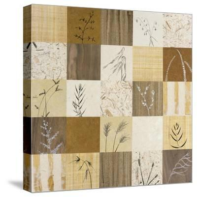 Patchwork of Leaves I-Julieann Johnson-Stretched Canvas Print