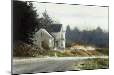 Roadside Pumpkins-Thomas William Jones-Mounted Premium Giclee Print