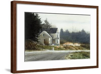 Roadside Pumpkins-Thomas William Jones-Framed Premium Giclee Print