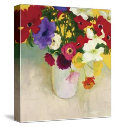 July Floral-Dale Payson-Stretched Canvas Print
