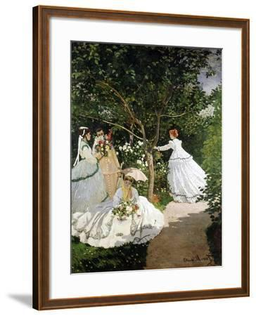 Femmes au jardin (Women in the Garden), 1866-67 Giclee Print by Claude Monet | Art.com