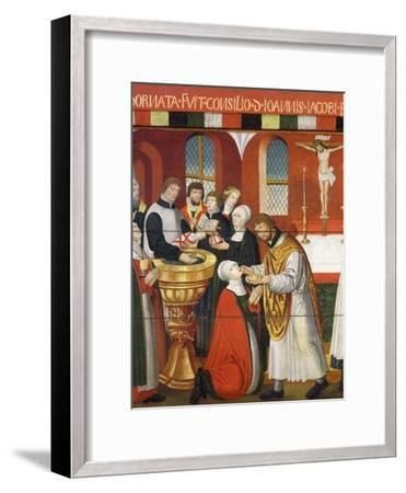 Martin Luther, German Roman Catholic Priest who was Excommunicated and Led Reformation in Germany--Framed Giclee Print