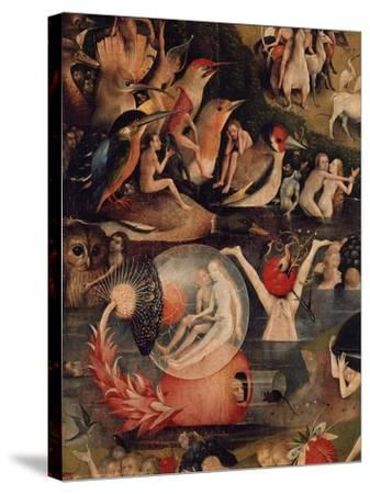 Allegory of Luxury, Central Panel of The Garden of Earthly Delights, c. 1503-04-Hieronymus Bosch-Stretched Canvas Print
