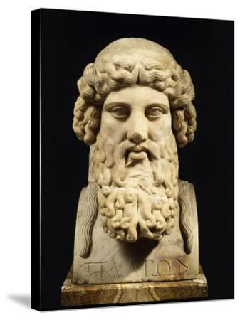 Plato, Greek Philosopher--Stretched Canvas Print