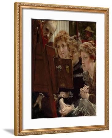 A Family Group, 1896-Sir Lawrence Alma-Tadema-Framed Giclee Print