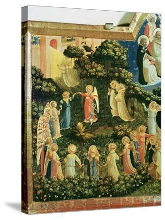 The Last Judgement-Fra Angelico-Stretched Canvas Print