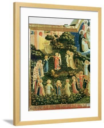 The Last Judgement-Fra Angelico-Framed Giclee Print