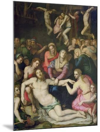 Deposition from the Cross-Agnolo Bronzino-Mounted Giclee Print
